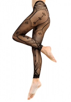 Pipduck Footless Tights Black